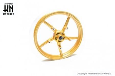 RCB 鋳造ホイール前後セット【SP522】【GSX-S125/150/GSX-R125/150】ゴールド