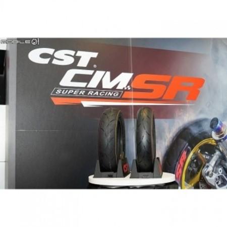 CM-SSR 【120/80-12 55J】リア用 CSTタイヤ チューブレス