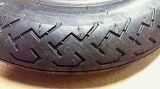 ダンロップ  400-12 チューブタイヤ 一本