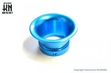 アルミビレットファンネル【汎用】ブルー【取付内径40mm/高さ37mm】