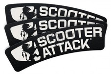 STAGE6【タイヤステッカー】Tire sticker Scooter-Attack【87mm×32mm】1枚