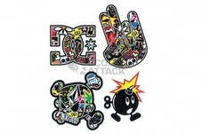STAGE6【ステッカー4セット】Sticker Set Sticker Bomb【90mm×120mmシート】